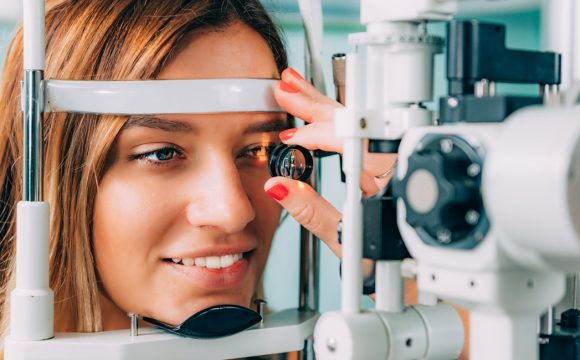 Slit-lamp examination